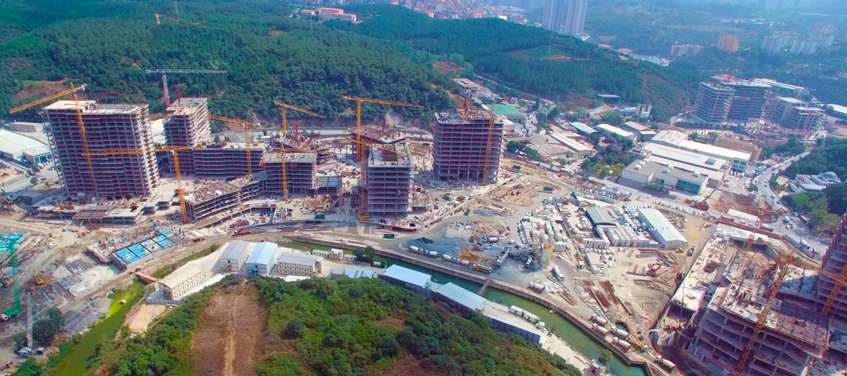 Artaş inşaatın tercihi potain kule vinç